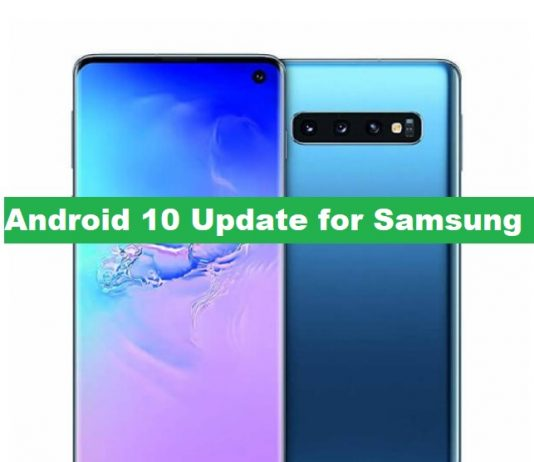 Android 10 OneUI 2.0 Samsung Phones