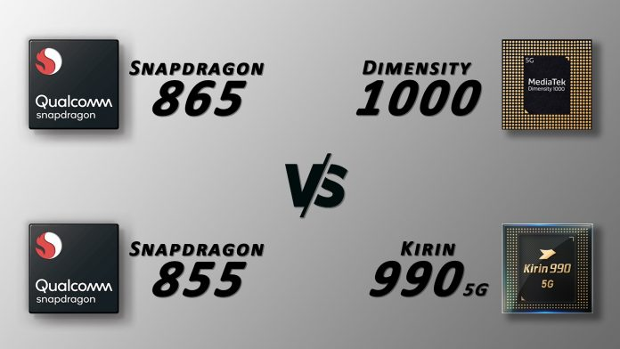 mediatek-dimensity-1000-vs-snapdragon-865-vs-855-vs-kirin-990-5g