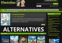 KissAnime Alternatives to Watch Anime Movies, TV Shows